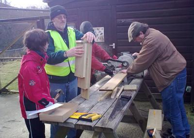 Bat Box Making 2010